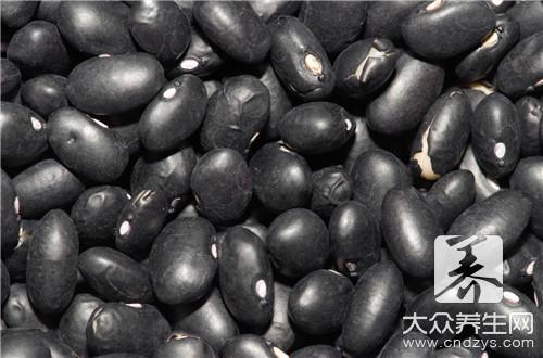 真假黑豆的鉴别方法