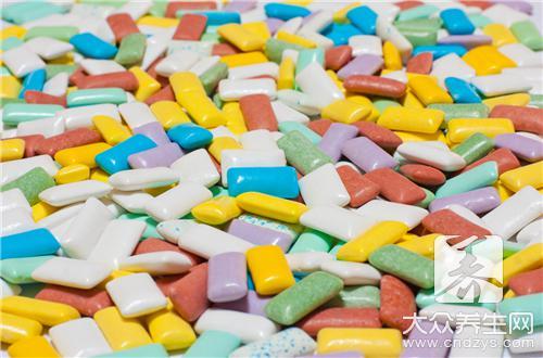 口香糖的成分